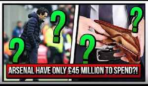 Arsenal Have Only £45 Million To Spend! | True or False? [Video]