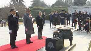 PM Modi visits cemetery in Seoul, pays tribute to soldiers killed in Korean War [Video]