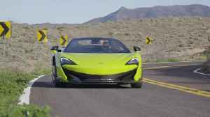 McLaren 600LT Spider in Lime Green Driving Video [Video]