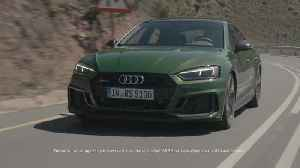 Optimum performance - the new Audi RS 5 Sportback [Video]
