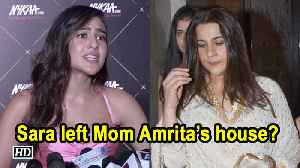 Sara Ali Khan left Mom Amrita Singh's house? the actress clears the air [Video]
