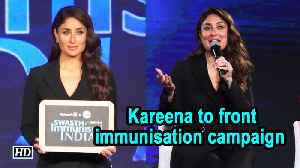 News video: Taimur is my life : Kareena Kapoor Khan to front immunisation campaign