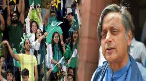 Not Playing match against Pakistan would be worse than surrender, says Shashi Tharoor |OneIndia News [Video]