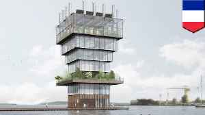 Futuristic vertical farm would grow food in the middle of the city [Video]