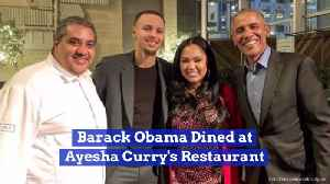 President Obama Goes For A Special Dinner On Presidents Day [Video]
