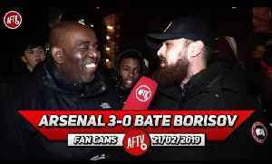 Arsenal 3-0 BATE Borisov | Ozil Is Not A £350k Player! (Turkish) [Video]