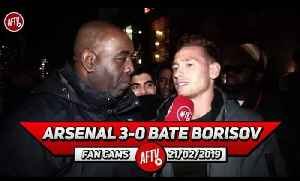 Arsenal 3-0 BATE Borisov | Ozil Brings Balance & Creativity To The Team! [Video]