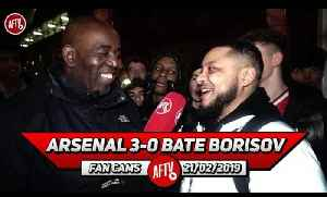 Arsenal 3-0 BATE Borisov | Xhaka Did His Thing Today!! (Troopz) [Video]