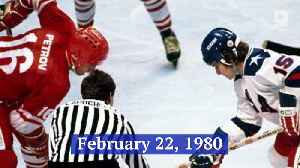 This Day in History: U.S. Hockey Team Makes Miracle on Ice [Video]