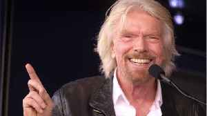 Richard Branson Works To Promote Space Tourism With New Virgin Galactic Flight [Video]