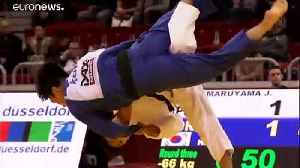 Explosive judo sees Japan dominate Day 1 of the Dusseldorf Grand Slam [Video]