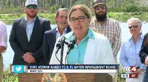 Governor DeSantis names Marco Island City Councilor water management board [Video]