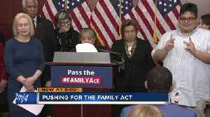 Local family travels to Washington to push for FAMILY Act [Video]