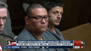 North High equipment manager pleads not guilty to multiple sexual misconduct charges [Video]