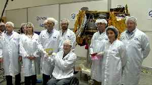 Israel launches its first moon lander [Video]