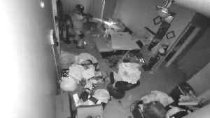 Home Security Footage Shows Unnecessary Drug Raid Pummeling Through Man's Home [Video]