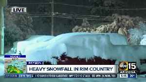 Payson roads closed as snow forces vehicles to stay put [Video]