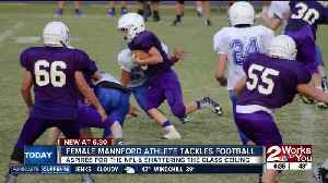 Mannford athlete has dreams of NFL as first female player [Video]