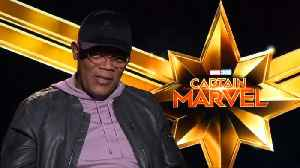 Brie Larson and Samuel L. Jackson talk Marvel at the Oscars [Video]