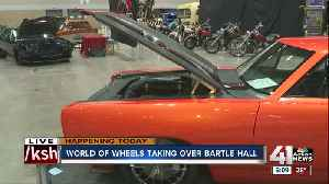 World of Wheels car show brings classics, hot-rods and Dale Earnhardt, Jr. to KC this weekend [Video]