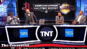 Charles Barkley roasts Jussie Smollett during TNT's NBA halftime show [Video]