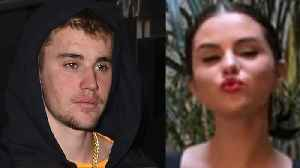 Selena Gomez Looks STUNNING At Friends Wedding While Justin & Hailey Bieber Look MISERABLE! [Video]