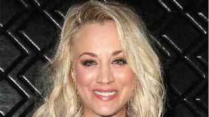 Kaley Cuoco Shares New Photo From Set Of The Big Bang Theory [Video]