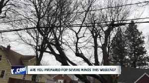 Is your home and yard prepared for the wind storm? [Video]