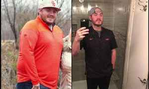 Oklahoma City Man Loses More Than 140 Pounds After Bet with Friend [Video]