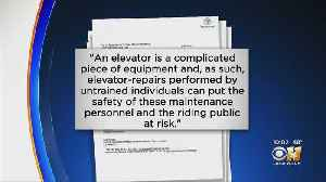 Elevator Company Urged JPS Hospital Not To Repair Elevators Themselves Days Before To Nurse's Injury [Video]