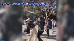 Man Promoting Conservative Views Sucker-Punched on Cal Campus [Video]