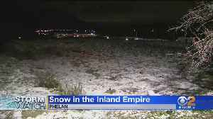 Stretch Of I-15 Closed Due To Snow, Icy Conditions [Video]