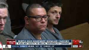 North High equipment manager pleas not guilty to sexual misconduct charges [Video]
