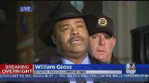 Boston Police Commissioner William Gross On Police Officer Shot [Video]