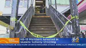 More MS-13 Members Arrested In Subway Platform Shooting [Video]