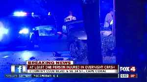 Serious crash closes Country Club Boulevard in Cape Coral [Video]