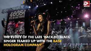 Amy Winehouse hologram tour postponed [Video]