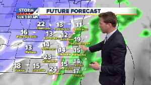 Mild Friday before messy winter weekend [Video]