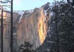 'Firefall' Lights Up Yosemite's Horsetail Fall [Video]