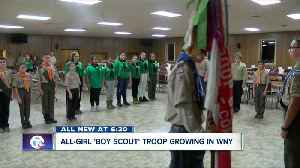All-girl 'Boy Scout' troop already growing in WNY [Video]