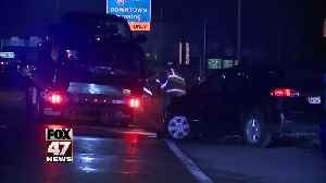 Icy roads cause crash on US-127 [Video]