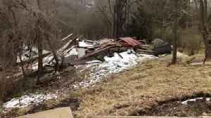 Web Extra: Landslide Causes House, Road Collapse In Perry North [Video]