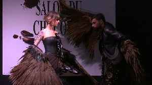 Watch: Chocolate dresses grace Brussels catwalk, but how Belgian is this €4bn industry? [Video]