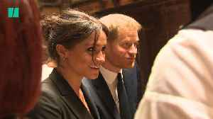 Harry And Meghan's Moroccan Tour [Video]