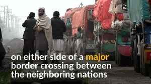 Hundreds of trucks stranded at India-Pakistan border [Video]