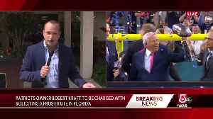 Police: Kraft among 25 men charged with soliciting prostitution [Video]
