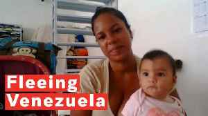 Fleeing Venezuela: A Mother Of Two's Journey [Video]