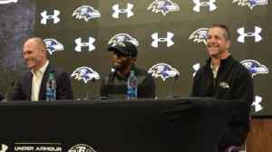 Ravens' Tavon Young on signing his extension [Video]