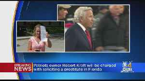 News video: Robert Kraft On List Of 25 Being Charged In Jupiter, Florida Prostitution Bust