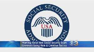 Warning About New Social Security Scam [Video]